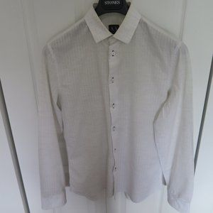 A|X Armani Exchange  - Mens white shirt